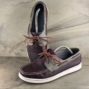 Sperry Cup Collection Two Tone Boat Shoes Size 11